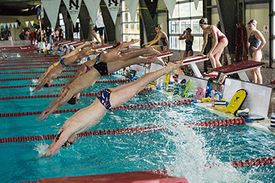Swim Team Practice