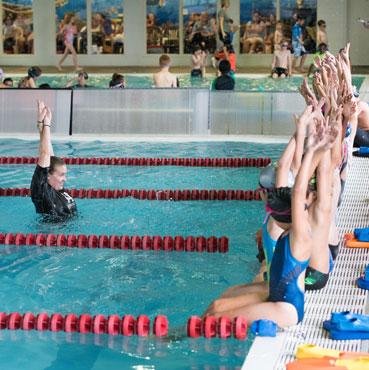 Teaching proper swim technique