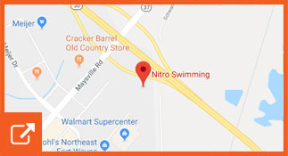 Nitro Swim Fort Wayne Map