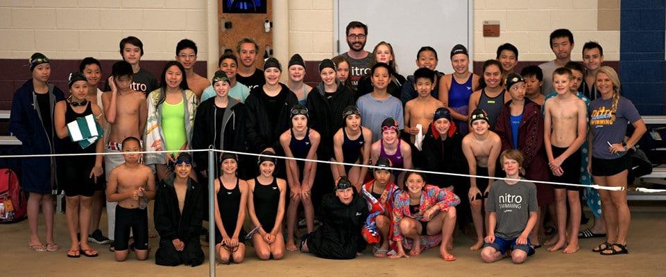 Nitro Swim Team at The Woodlands Meet 2019