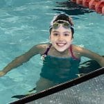 young swimmer at nitro