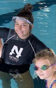 nitro coach with face shield