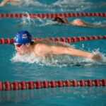 swimmers racing