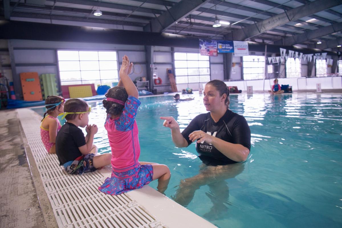 Swim Lessons In Austin Tx Area Cedar Park Bee Cave Nitro